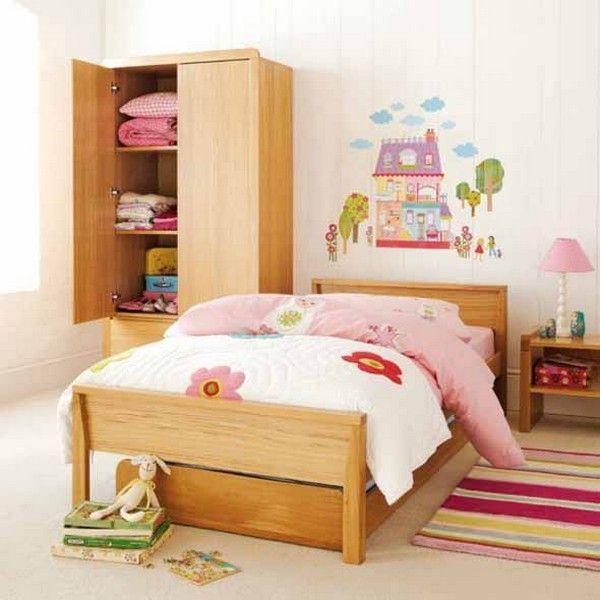 Фото - Оформлення дитячої кімнати для дівчинки