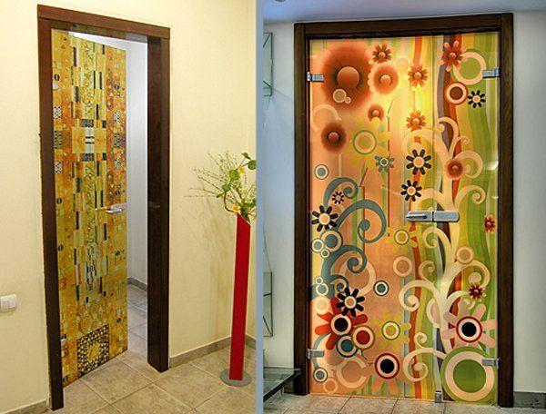 Фото - Оформлення дверей своїми руками