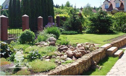 Як зробити дизайн садової ділянки?