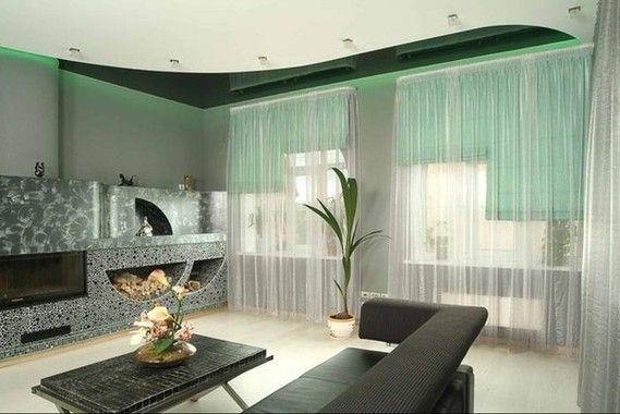 Фото - Оформлення вікна в залі: особливості дизайну