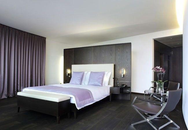 Фото - Оформлення спальні в стилі хай тек