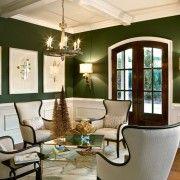 Темно-зелені стіни