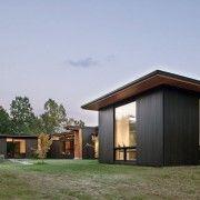 Комплекс будівель в стилі мінімалізм
