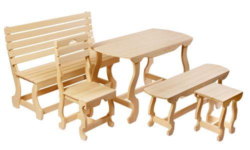 Фото - Огсобенності виготовлення меблів для лазні