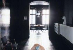 Фото - Офарблюємо підлогу в чорний колір