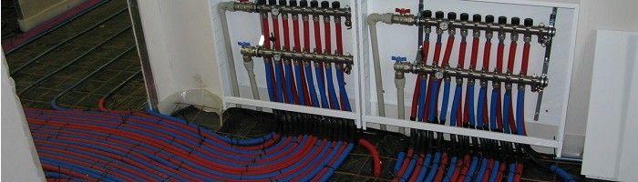 Фото - Опресовування системи теплих підлог