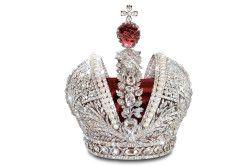 Корона, прикрашена шпинелью