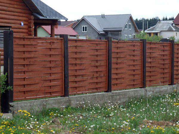 Фото - Красива огорожа або паркан для будинку