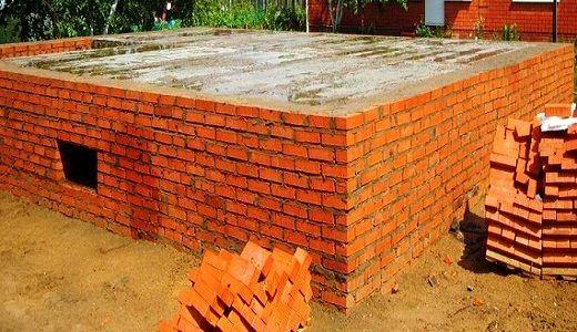 Фундамент з цегли
