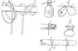 Фото - Основні матеріали для мотузкових сходів