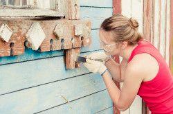 Підготовка будинок до фарбування