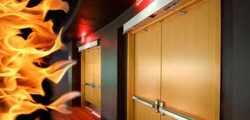 Фото - Основні правила установки протипожежних дверей