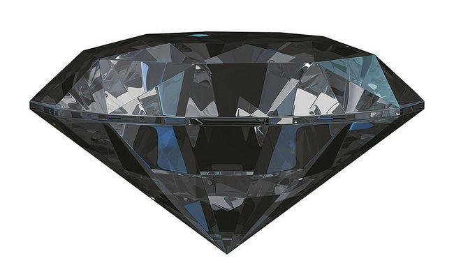 Фото - Особливості чорного алмаза
