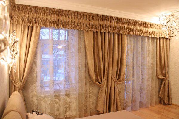 Фото - Особливості дизайну штор для вітальні