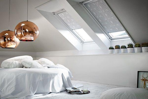 Фото - Особливості дизайну штор для мансардних вікон