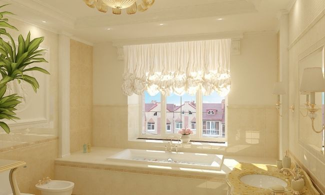 Ванна кімната в класичному стилі