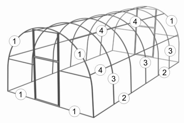 Фото - Особливості конструкцій і матеріали для збірних теплиць