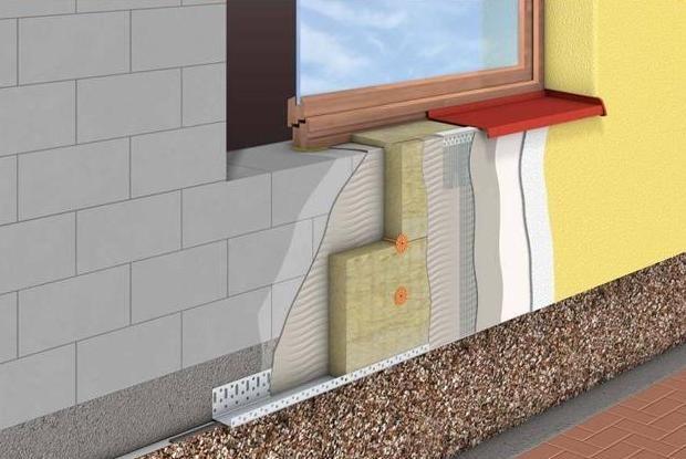 Фото - Особливості кріплення утеплювача до цегляної стіни