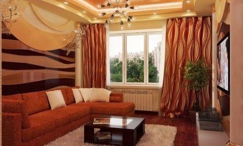 Фото - Особливості оформлення вітальні в хрущовці