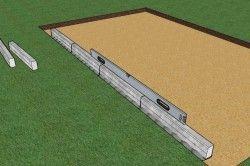 Для початку необхідно підготувати ложе під укладку плитки. Найголовнішим моментом є рівномірна поверхня.