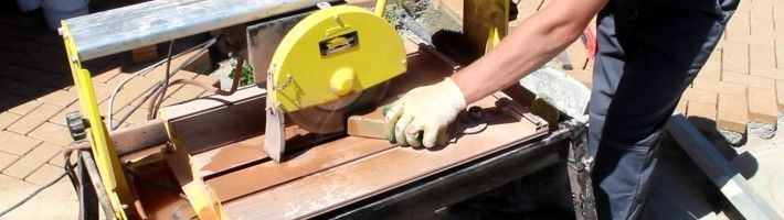 Особливості різання кахельної плитки