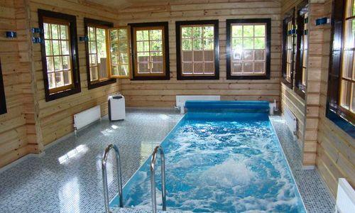 Фото - Особливості будівництва лазні з басейном
