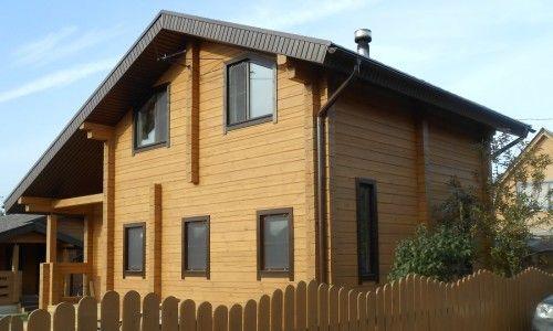Фото - Особливості будівництва двоповерхового будинку з бруса