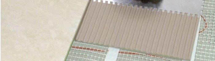 Фото - Особливості укладання плитки на теплі підлогу