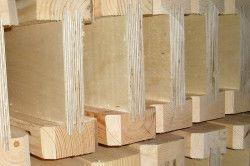 Двотаврові деревяні балки