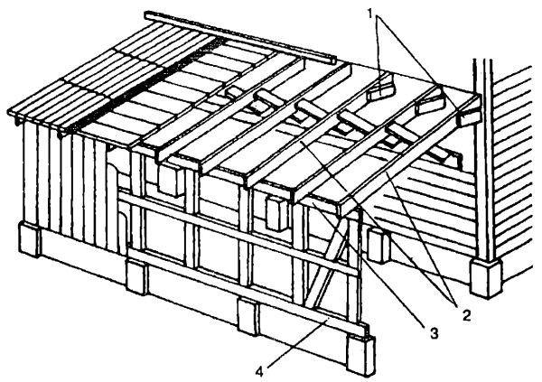 Фото - Особливості зведення поруч з будинком дерев'яної веранди