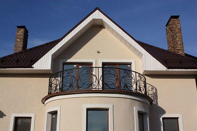 Балкон круглої форми