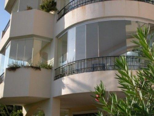 Фото - Скління напівкруглого балкона