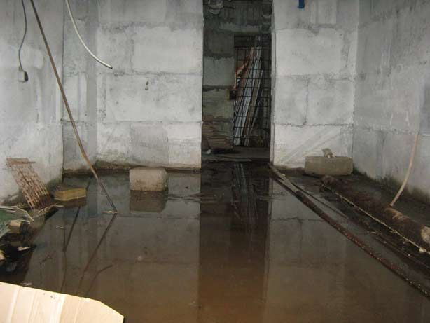 Фото - Осушення підвальних приміщень
