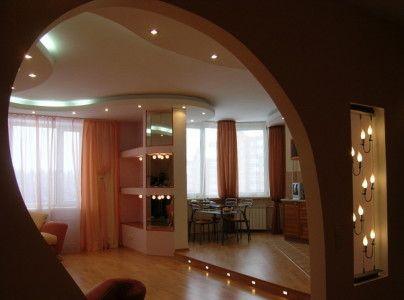 Дизайн кімнати зі світлодіодним освітленням