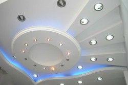 освітлення багаторівневої стелі