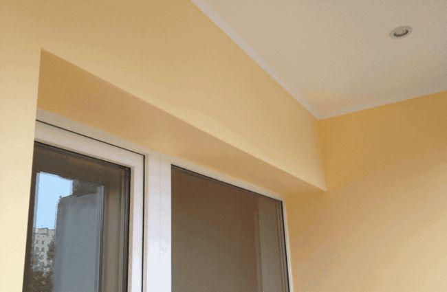 Фото - Оздоблення балкона гіпсокартоном