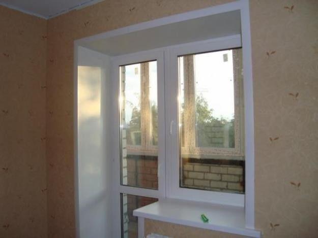 Фото - Обробка укосів пластикових вікон