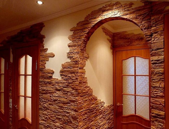 Фото - Оздоблення стін декоративною цеглою