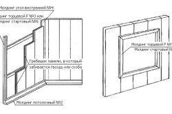 Схема монтажу ПВХ панелі