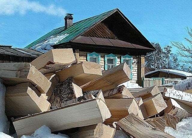 Фото - Опалення дачі за допомогою дров
