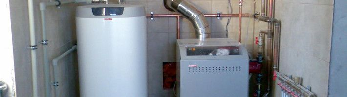 Фото - Опалення в приватному будинку на основі газового котла