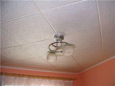 Оздоблення пінопластом стелі на кухні