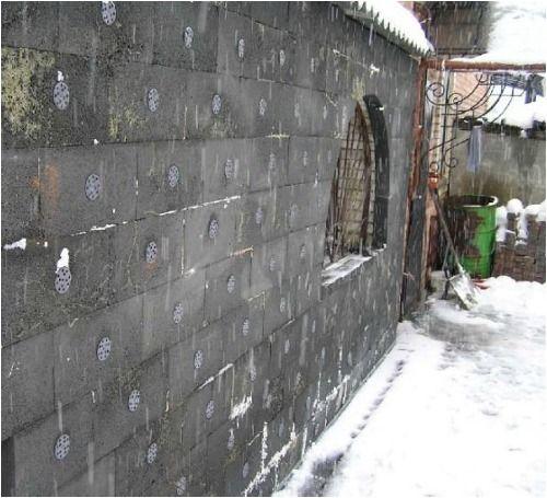 Зовнішнє утеплення стін піносклом
