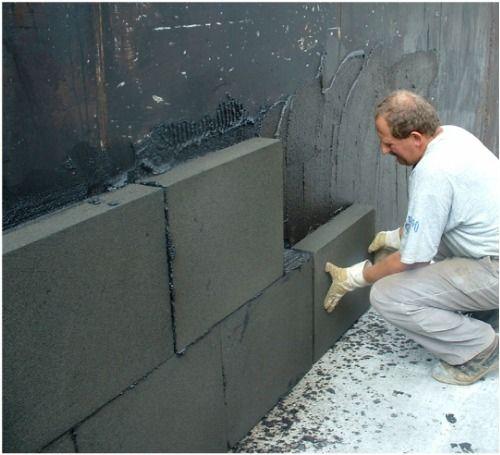 Застосування піноскла для утеплення стін