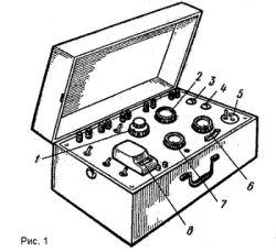 Фото - Переносний потенціометр пп-63: порядок вимірювань
