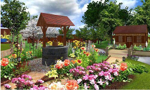 Планування садової ділянки в 6 соток