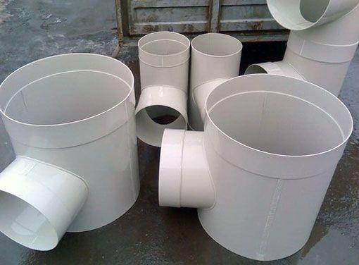 Пластикові вентиляційні повітроводи