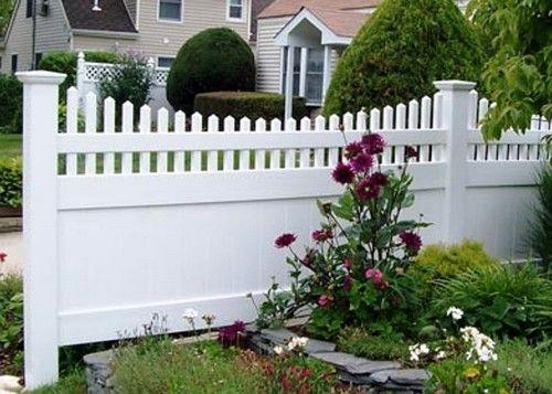 паркан садовий пластиковий