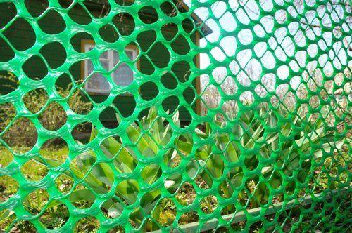 Пластикова сітка для огорожі
