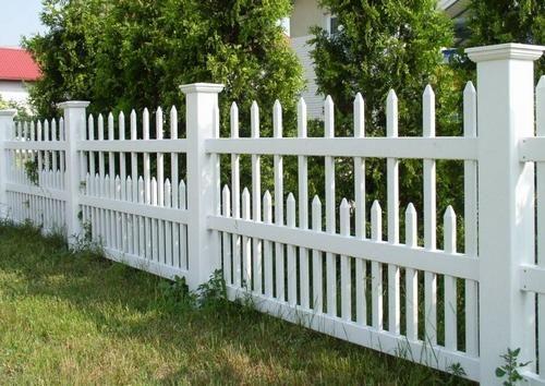 декоративний пластиковий паркан
